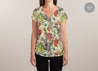 flux - womens-sublimated-v-neck - small view