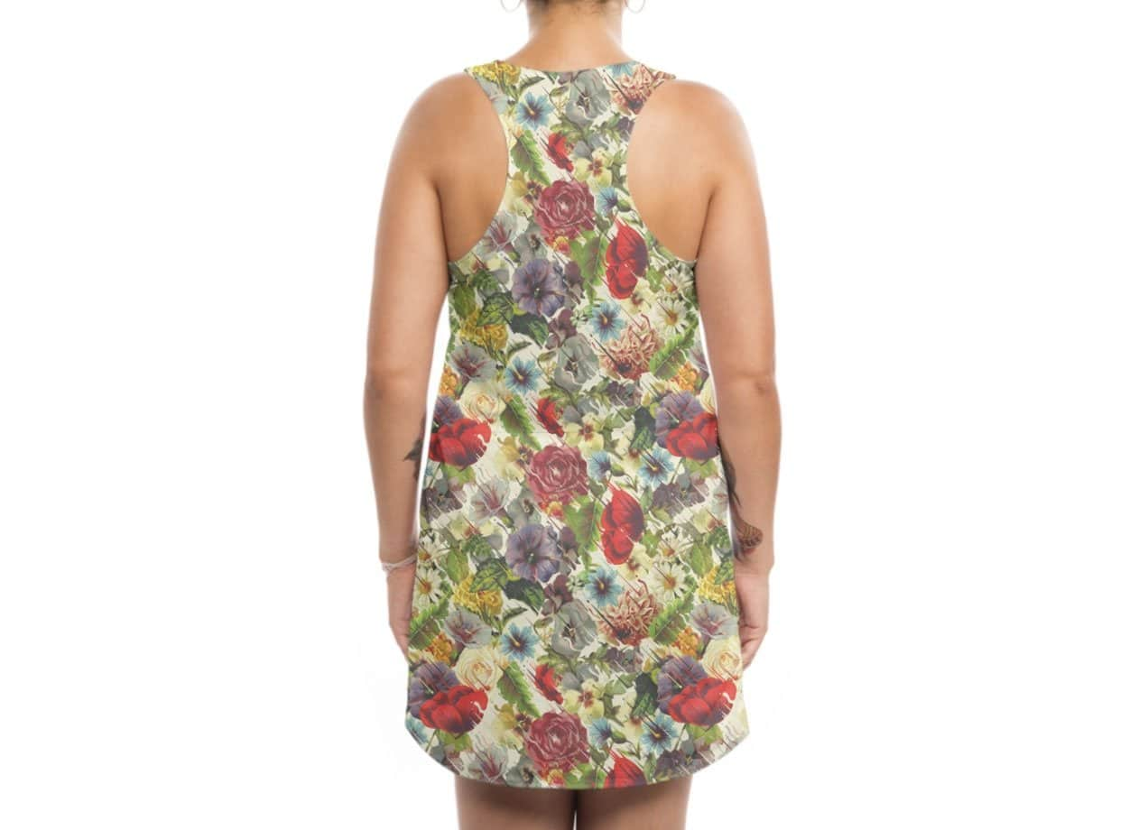 8f4dabb229eb flux by chuck pavoni | Womens Sublimated Tank Dress Threadless