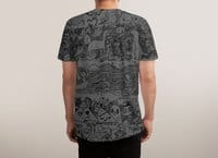 Many Layered Doodle - mens-sublimated-tee - small view