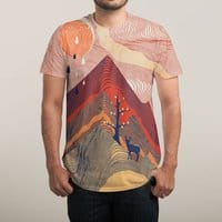 Ripple in the Sand - mens-sublimated-tee - small view