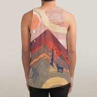 Ripple in the Sand - sublimated-tank - small view