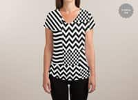 Dazzle - womens-sublimated-v-neck - small view