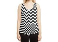Dazzle - womens-sublimated-racerback-tank - small view