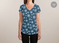 Hope Through The Storm - womens-sublimated-v-neck - small view