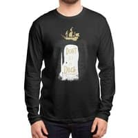 Don't Be A Dick - mens-long-sleeve-tee - small view