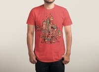 Invisible City - mens-triblend-tee - small view