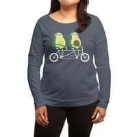 AvoCardio - womens-long-sleeve-terry-scoop - small view
