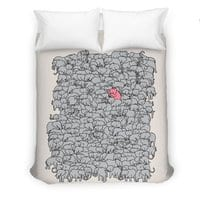 the Pink Pachyderm - duvet-cover - small view
