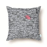 the Pink Pachyderm - throw-pillow - small view