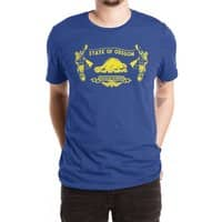 Let Your Freak Flag Fly (Oregon) - mens-extra-soft-tee - small view