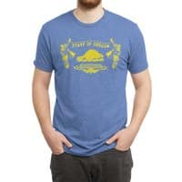 Let Your Freak Flag Fly (Oregon) - mens-triblend-tee - small view