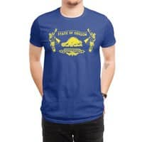 Let Your Freak Flag Fly (Oregon) - mens-regular-tee - small view