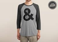 Pizza & Beer - triblend-34-sleeve-raglan-tee - small view