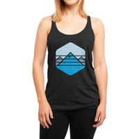 Everest - womens-triblend-racerback-tank - small view