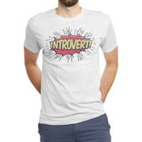 Introvert! - mens-triblend-tee - small view