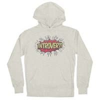 Introvert! - unisex-lightweight-pullover-hoody - small view