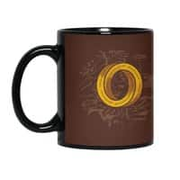 One Impossible Ring - black-mug - small view