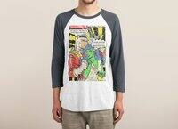 Through the 4th Wall - triblend-34-sleeve-raglan-tee - small view