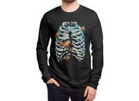 Fish Bone - mens-long-sleeve-tee - small view