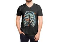 Fish Bone - vneck - small view