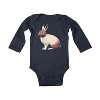 Rabbit Wrestler - baby-long-sleeve-bodysuit - small view