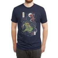 FEUDAL SPIDER WARRIOR UKIYO - mens-triblend-tee - small view
