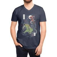 FEUDAL SPIDER WARRIOR UKIYO - vneck - small view