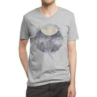 Full Moon - vneck - small view