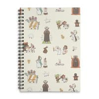 The Holy Grail Pattern - spiral-notebook - small view