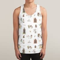 The Holy Grail Pattern - sublimated-tank - small view