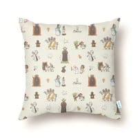 The Holy Grail Pattern - throw-pillow - small view