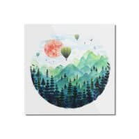 Roundscape - square-mounted-acrylic-print - small view