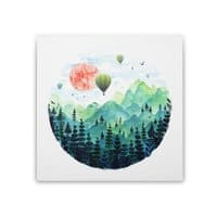 Roundscape - square-stretched-canvas - small view
