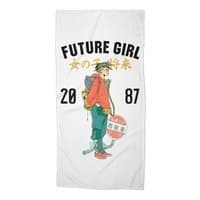 Future Girl - beach-towel - small view