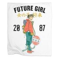 Future Girl - blanket - small view