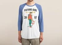 Future Girl - triblend-34-sleeve-raglan-tee - small view