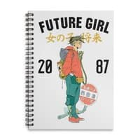 Future Girl - spiral-notebook - small view