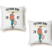 Future Girl - throw-pillow - small view