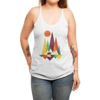 Great Outdoors - womens-triblend-racerback-tank - small view