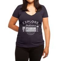 The Great Indoors - womens-deep-v-neck - small view
