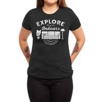 The Great Indoors - womens-triblend-tee - small view