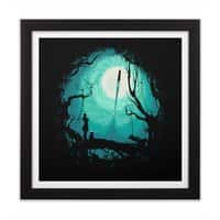 After Cosmic War - black-square-framed-print - small view