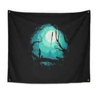 After Cosmic War - indoor-wall-tapestry - small view