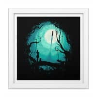 After Cosmic War - white-square-framed-print - small view