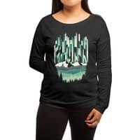 A Sheer Winter Dawn - womens-long-sleeve-terry-scoop - small view