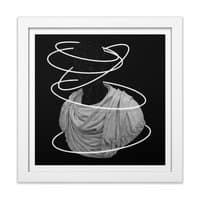 Halos - white-square-framed-print - small view
