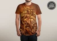 Dragon Priestess - mens-sublimated-tee - small view