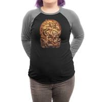 Dragon Priestess - triblend-34-sleeve-raglan-tee - small view