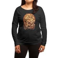 Dragon Priestess - womens-long-sleeve-terry-scoop - small view
