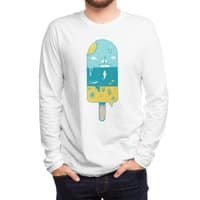 Melted Landscape - mens-long-sleeve-tee - small view